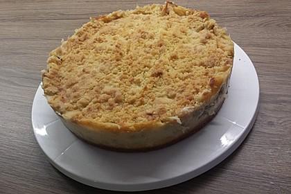Rhabarberkuchen mit Vanillecreme und Streusel 58