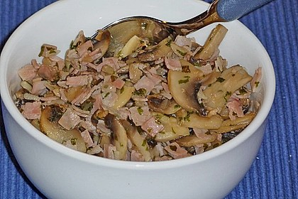 Champignon - Schinken  Raclette