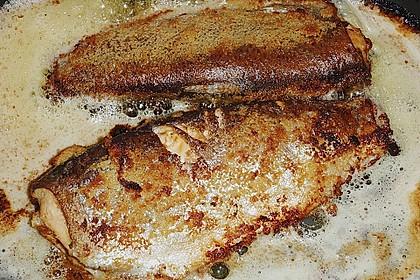 Forelle oder Lachsforelle aus dem Backofen 4