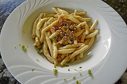Linguine mit Kokos-Limetten Sauce 6