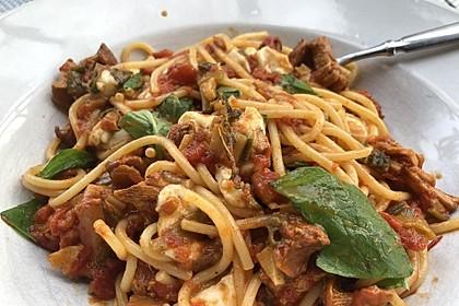Pfifferling-Spaghetti 6