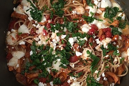 Pfifferling-Spaghetti 12