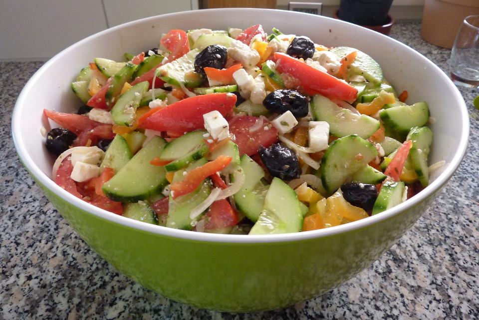 Griechische salat rezept