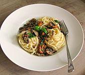 Spaghetti con Funghi (Bild)