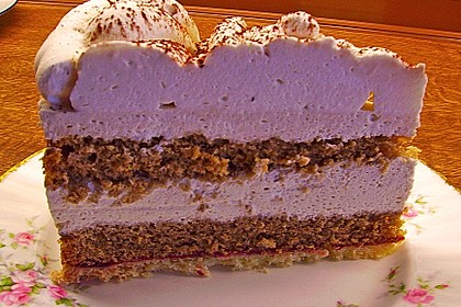 Cappuccino Sahnecreme-Torte 1