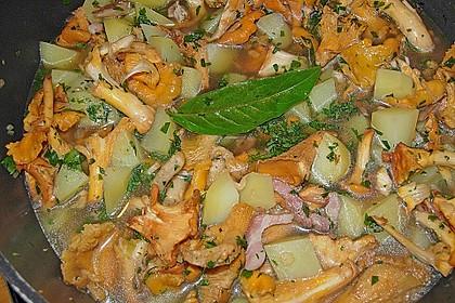 Kartoffeleintopf mit Pilzen 2