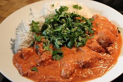 Chicken Makhani - indisches Butterhuhn 1