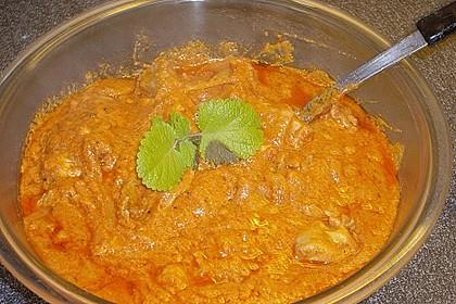 Chicken Makhani - indisches Butterhuhn 9