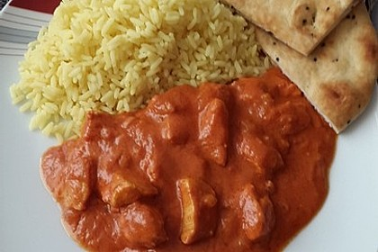 Chicken Makhani - indisches Butterhuhn 12