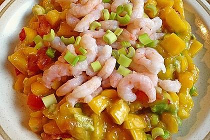 Avocado-Mango Salsa mit Garnelen 31