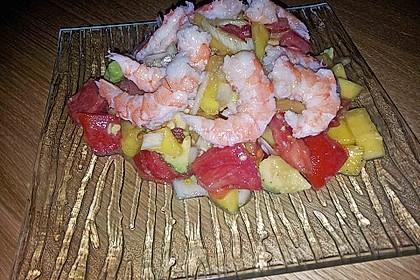Avocado-Mango Salsa mit Garnelen 35