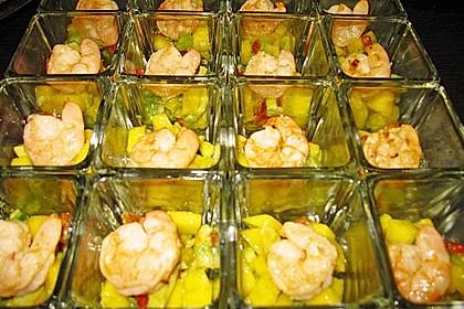 Avocado-Mango Salsa mit Garnelen 28