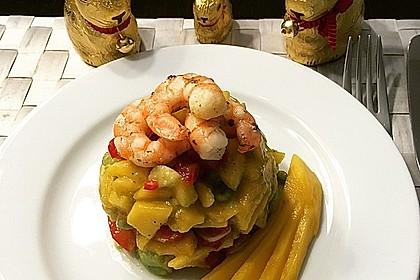 Avocado-Mango Salsa mit Garnelen 18