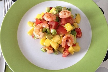 Avocado-Mango Salsa mit Garnelen 24