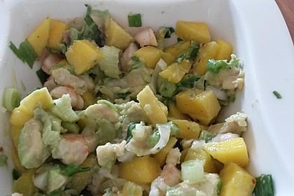 Avocado-Mango Salsa mit Garnelen 33