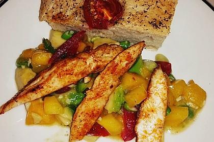 Avocado-Mango Salsa mit Garnelen 4