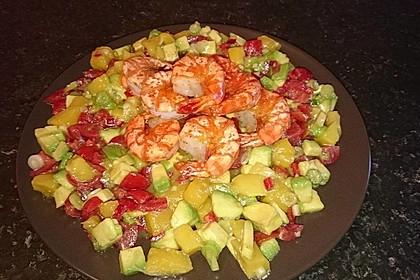 Avocado-Mango Salsa mit Garnelen 29