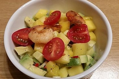 Avocado-Mango Salsa mit Garnelen 22
