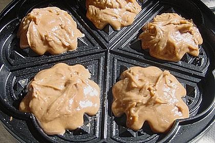 Schokoladen-Waffelkekse mit Schokofrosting 2