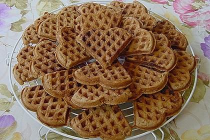 Schokoladen-Waffelkekse mit Schokofrosting 1