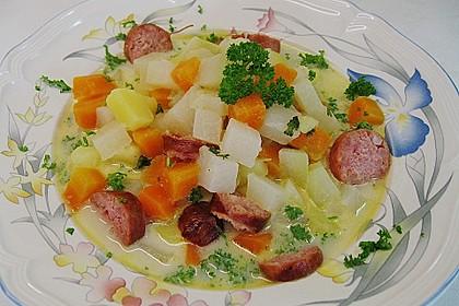 Kohlrabi-Suppentopf 1