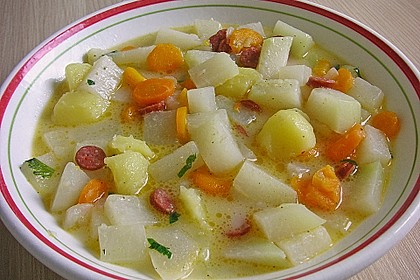 Kohlrabi-Suppentopf 2