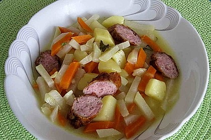 Kohlrabi-Suppentopf 8