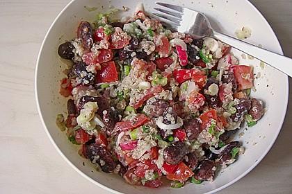 Quinoa-Saubohnen-Salat