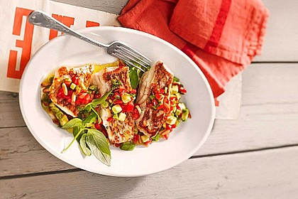 Avocado-Tomaten Salsa zu Red Snapper 1