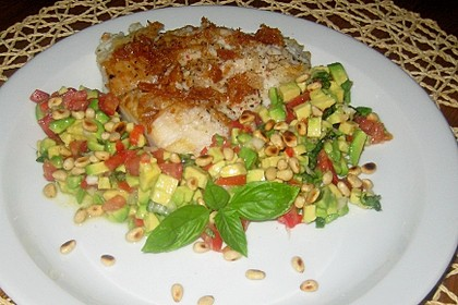 Avocado-Tomaten Salsa zu Red Snapper 4