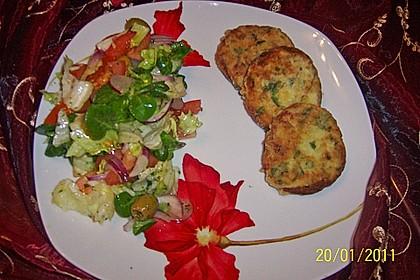 Arabisch-marokkanische Kartoffelpuffer 4