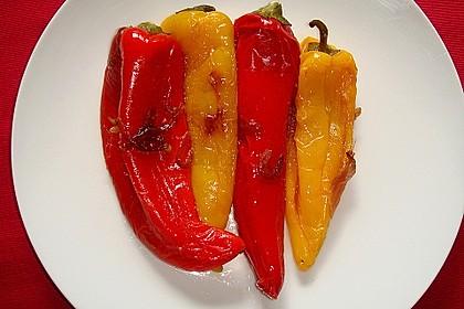 Gebratene Spitzpaprika mit Meersalz 2