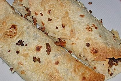 Tortillas mit Hackfleisch und Salsa Cruda 1