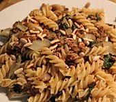 Scharfe Mangold-Pasta