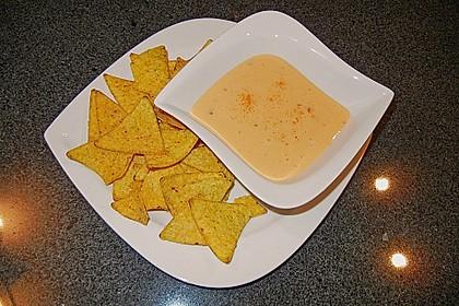 Käsedip für Nachos 3