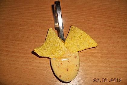 Käsedip für Nachos 10