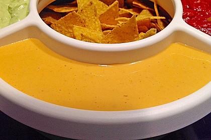 Käsedip für Nachos 1
