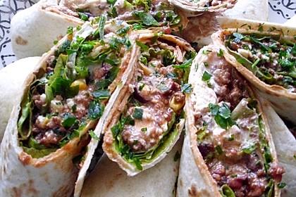 Albertos Wraps mit Chili con Carne 4