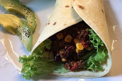 Albertos Wraps mit Chili con Carne 7