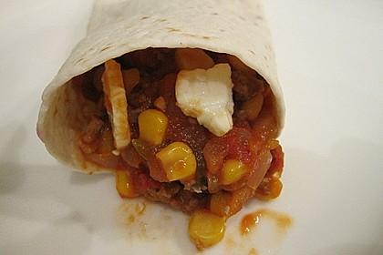 Albertos Wraps mit Chili con Carne 12