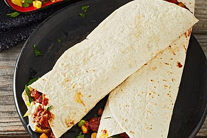 Albertos Wraps mit Chili con Carne 2