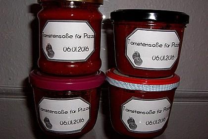 Tomatensoße für Pizza, Nudeln, Reis oder als Aufstrich