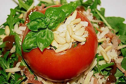 Gefüllte Tomaten italienischer Art