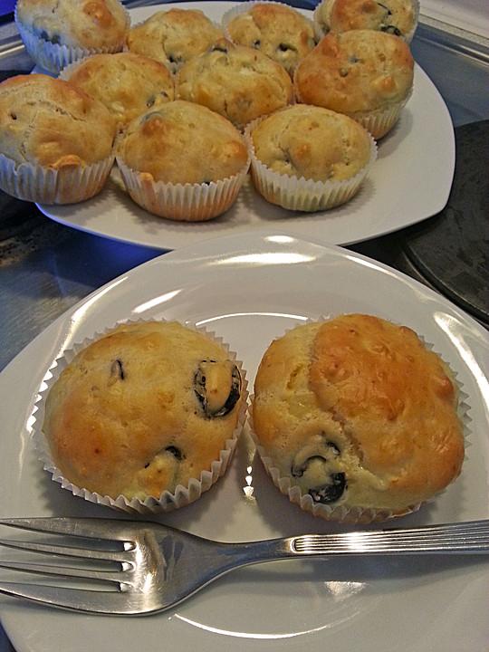 herzhafte muffins mit oliven rezept mit bild von wiktorija. Black Bedroom Furniture Sets. Home Design Ideas