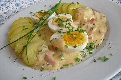 Eier in Schinken-Sahne Soße 2