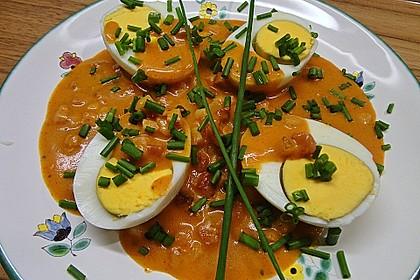 Eier in Schinken-Sahne Soße 7