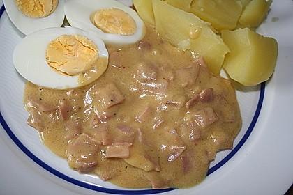 Eier in Schinken-Sahne Soße 24