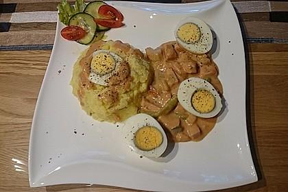 Eier in Schinken-Sahne Soße 31
