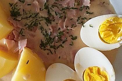 Eier in Schinken-Sahne Soße 23