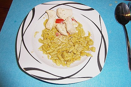 Curry-Spätzle 0